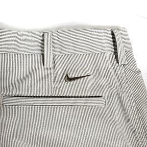 Mens Nike Golf Striped Shorts Stretch